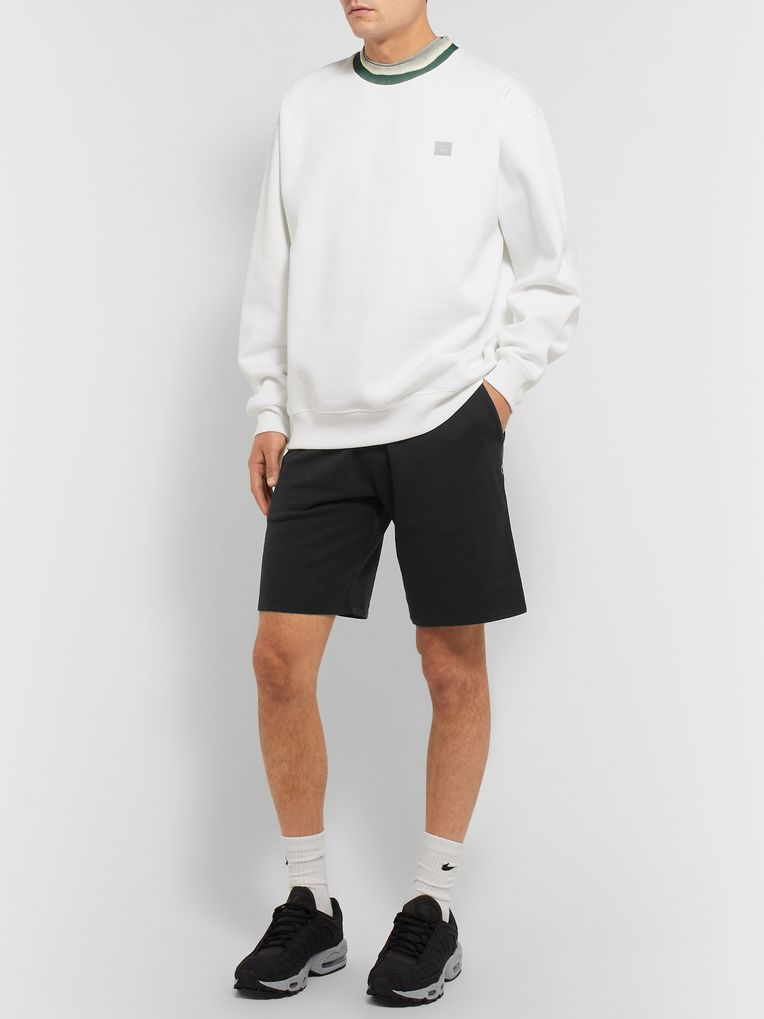Reigning Champ Loopback Pima Cotton-Terry Drawstring Shorts