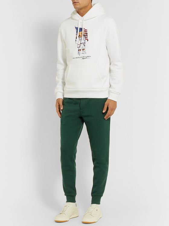Polo Ralph Lauren Tapered Logo-Embroidered Jersey Sweatpants