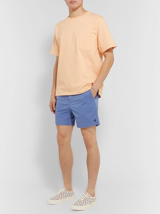 Polo Ralph Lauren Washed Cotton-Blend Twill Shorts
