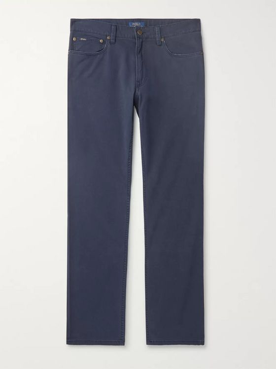Polo Ralph Lauren Slim-Fit Stretch Cotton-Twill Chinos