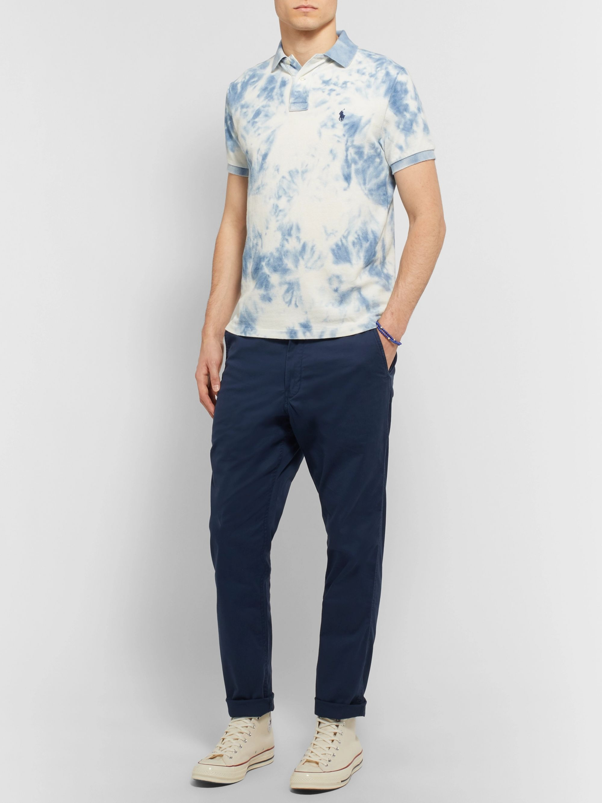 Polo Ralph Lauren Tapered Cotton-Blend Twill Chinos