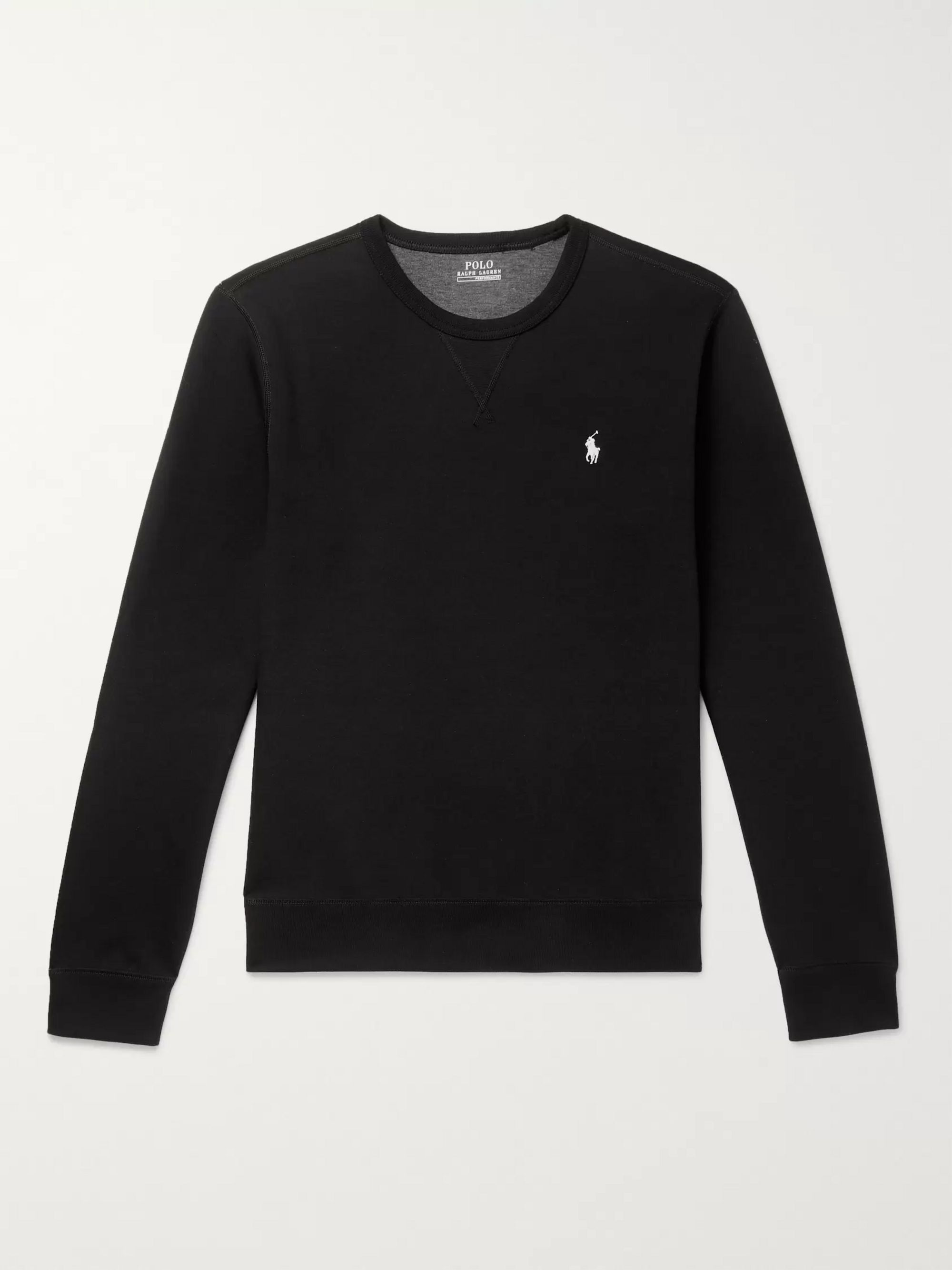 Logo Embroidered Jersey Sweatshirt by Polo Ralph Lauren