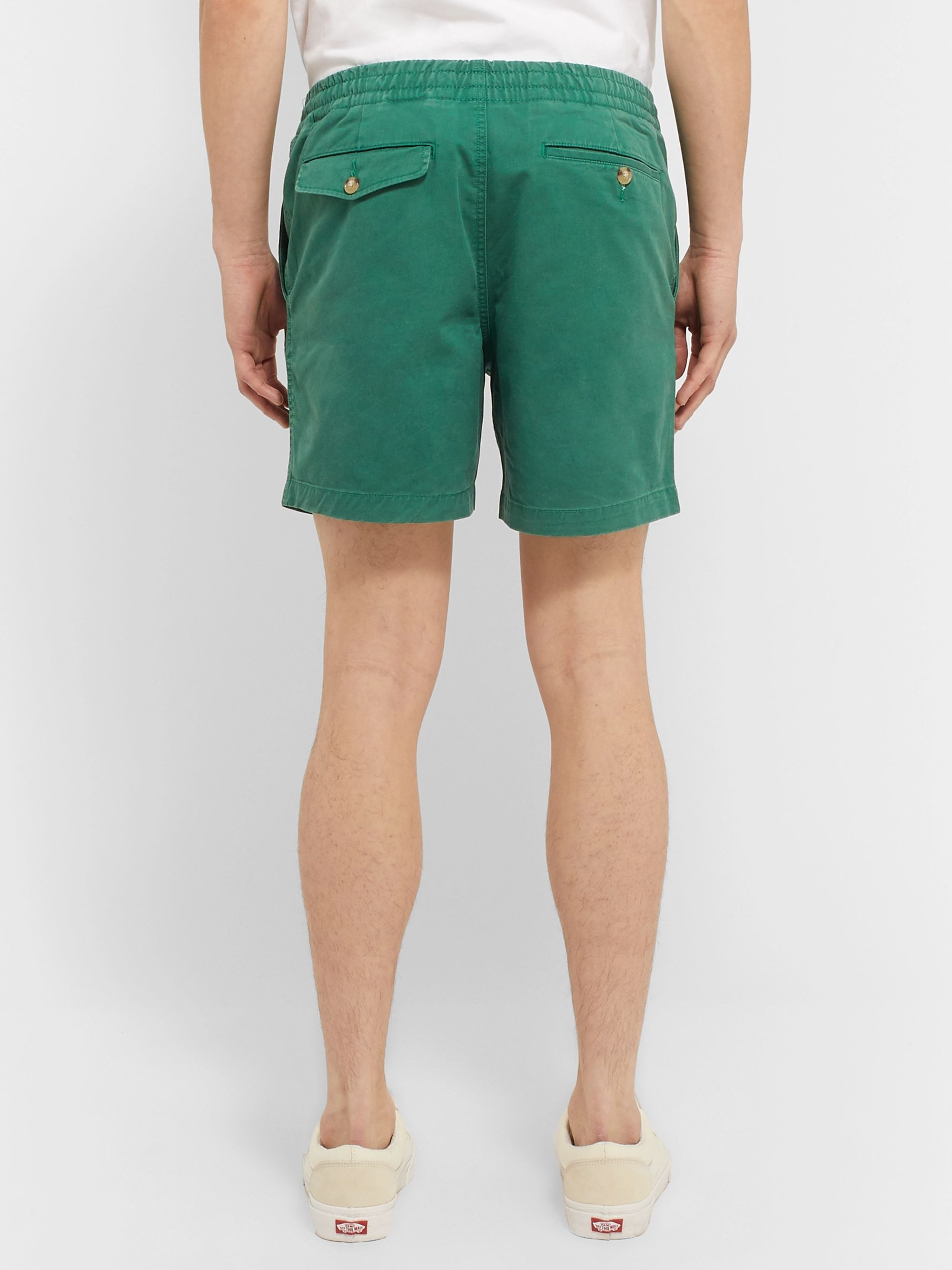Polo Ralph Lauren Cotton-Blend Twill Chino Shorts