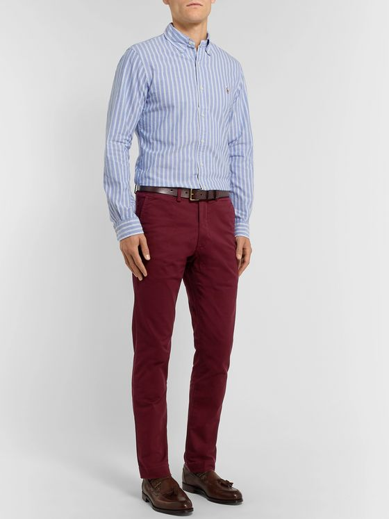 Polo Ralph Lauren Slim-Fit Cotton-Blend Twill Chinos