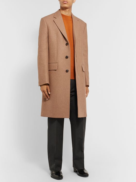 MAISON MARGIELA Mélange Wool-Blend Coat