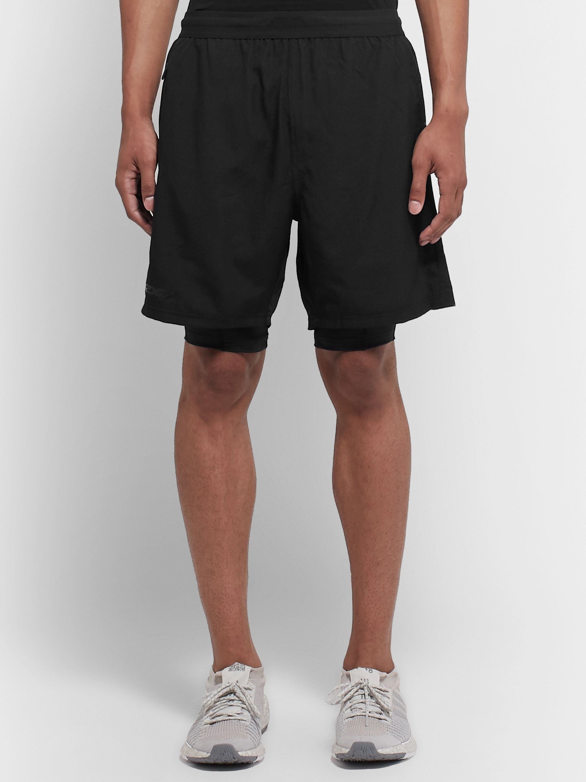 2XU 2-In-1 Ripstop Compression Shorts