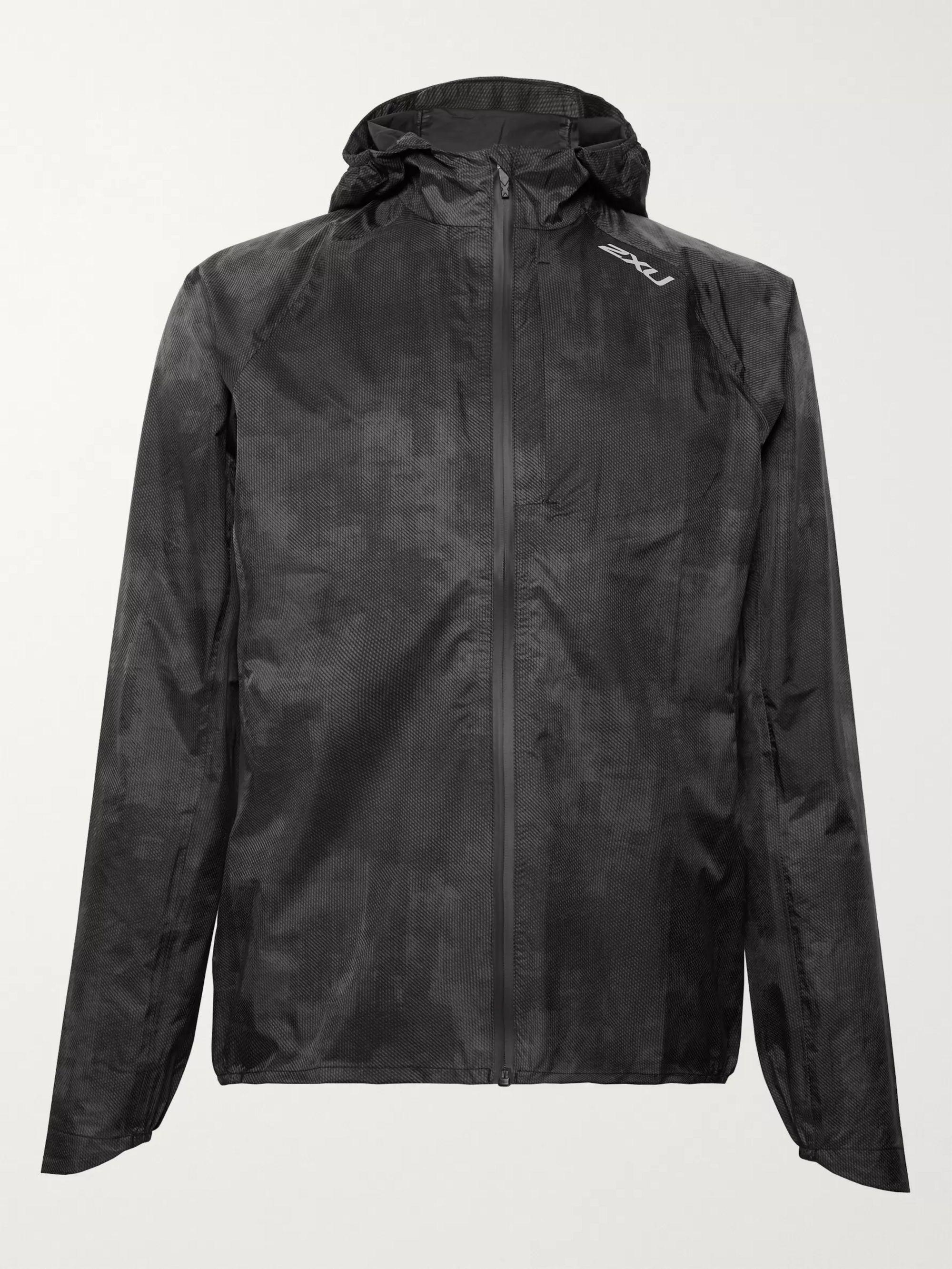 Pursuit AC Printed Waterproof Nylon Hooded Jacket