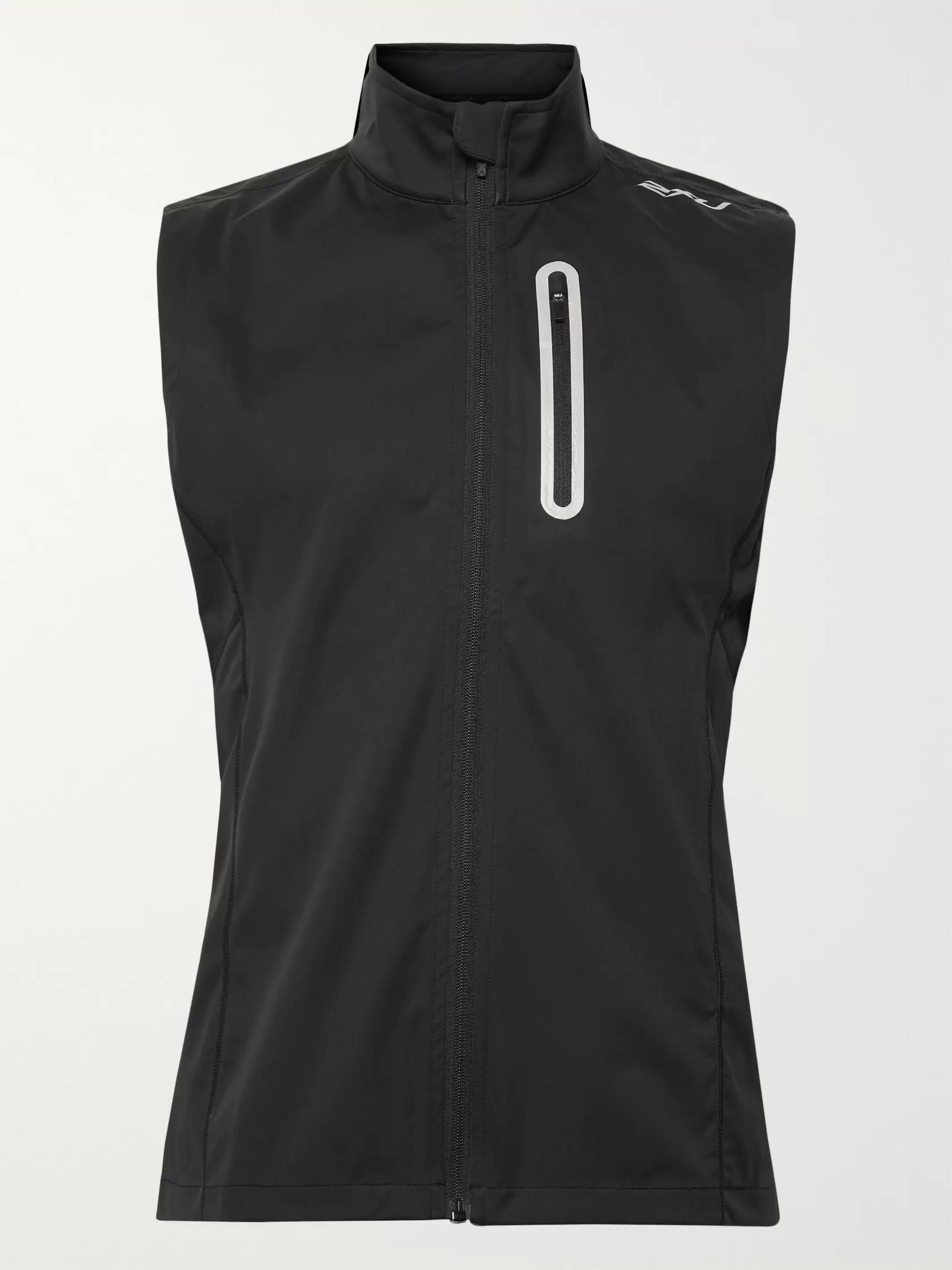 2XU Wind Defence Membrane Waterproof Stretch-Jersey Gilet