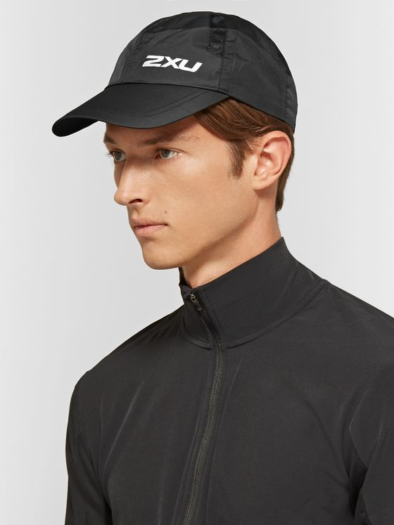 2XU Logo-Print Nylon and Mesh Running Cap