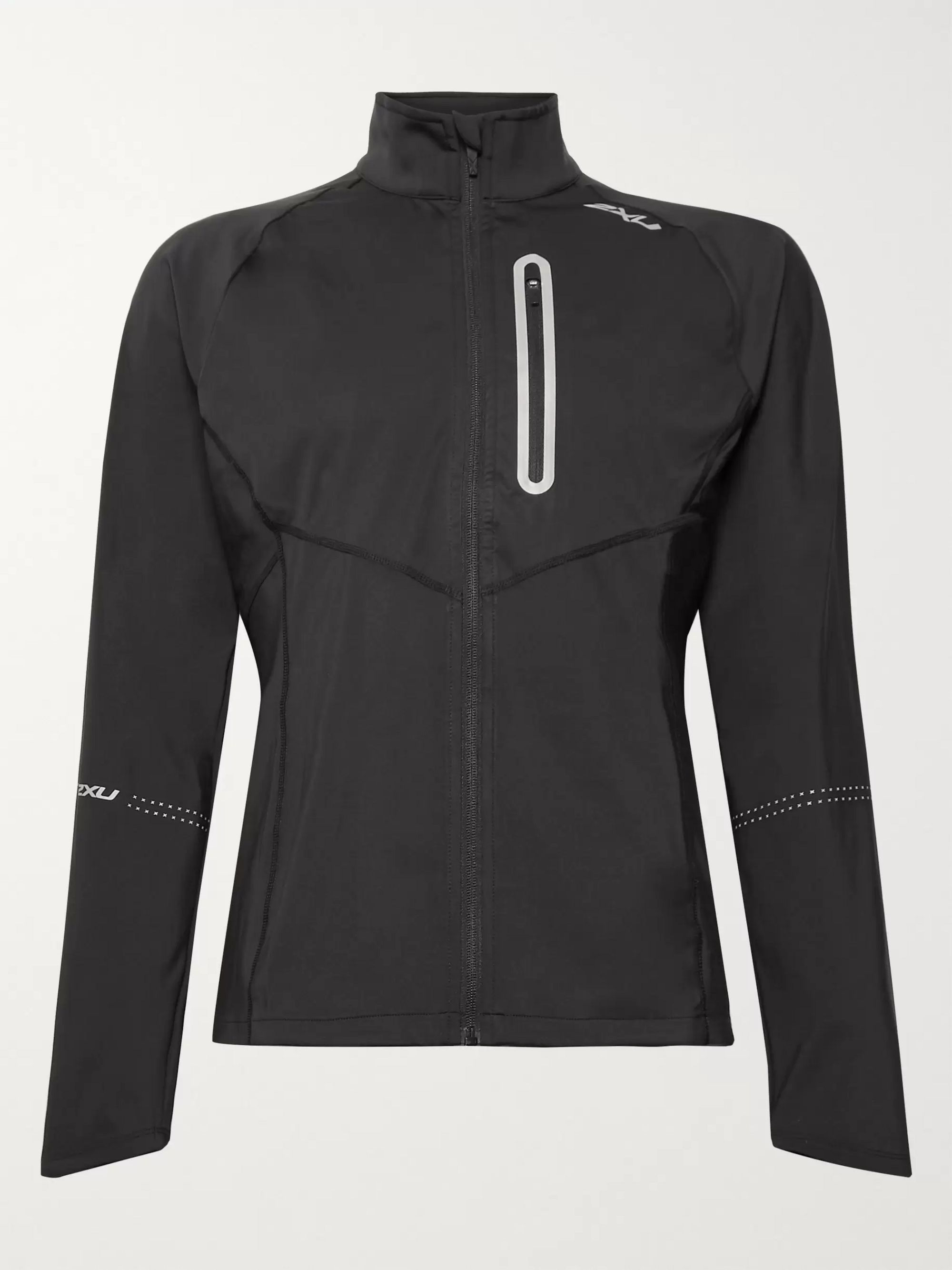 2XU Pursuit Slim-Fit Thermal Hybrid Stretch-Jersey Jacket
