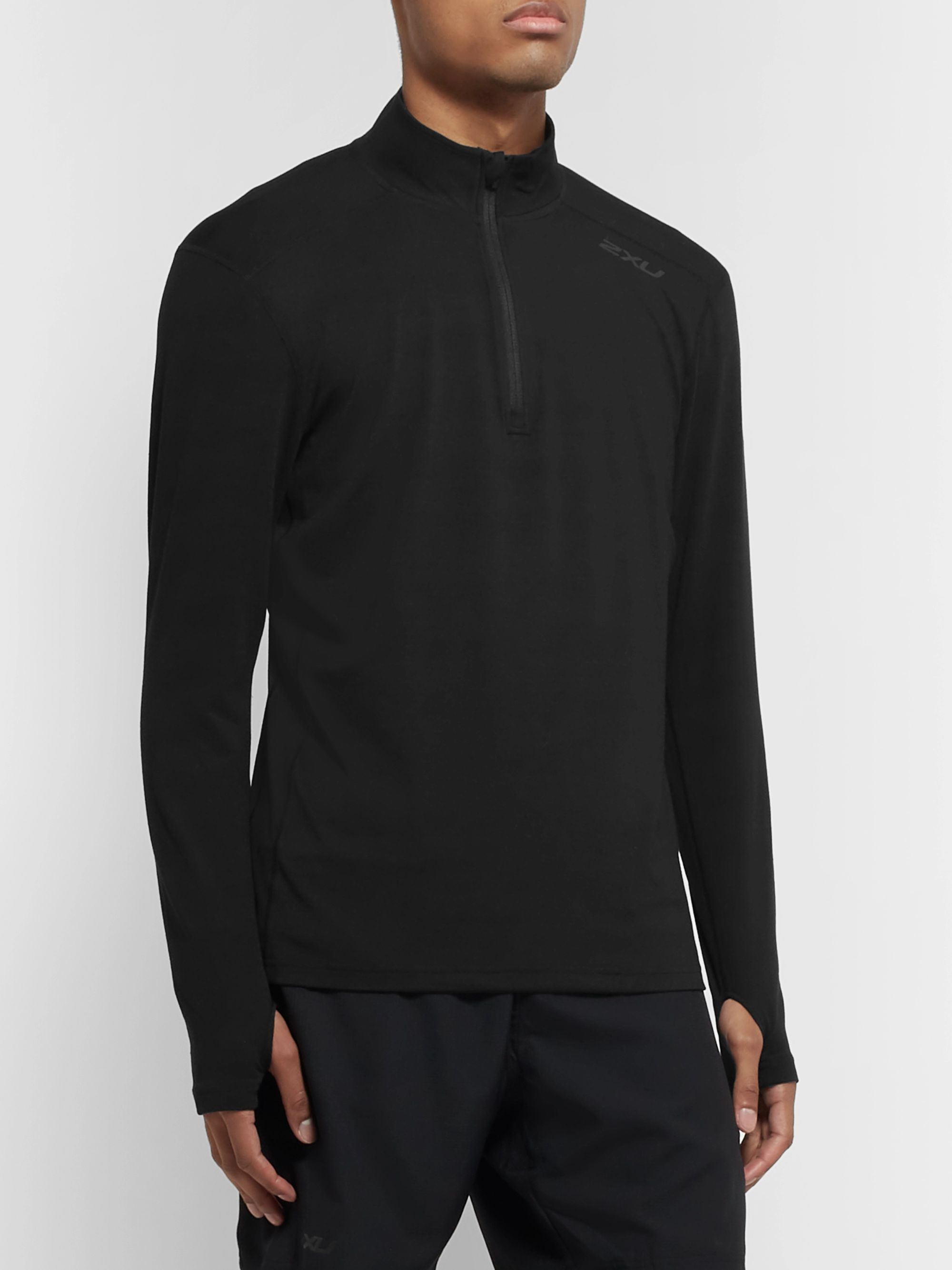 2XU Slim-Fit BIO-HEAT X Half-Zip Top
