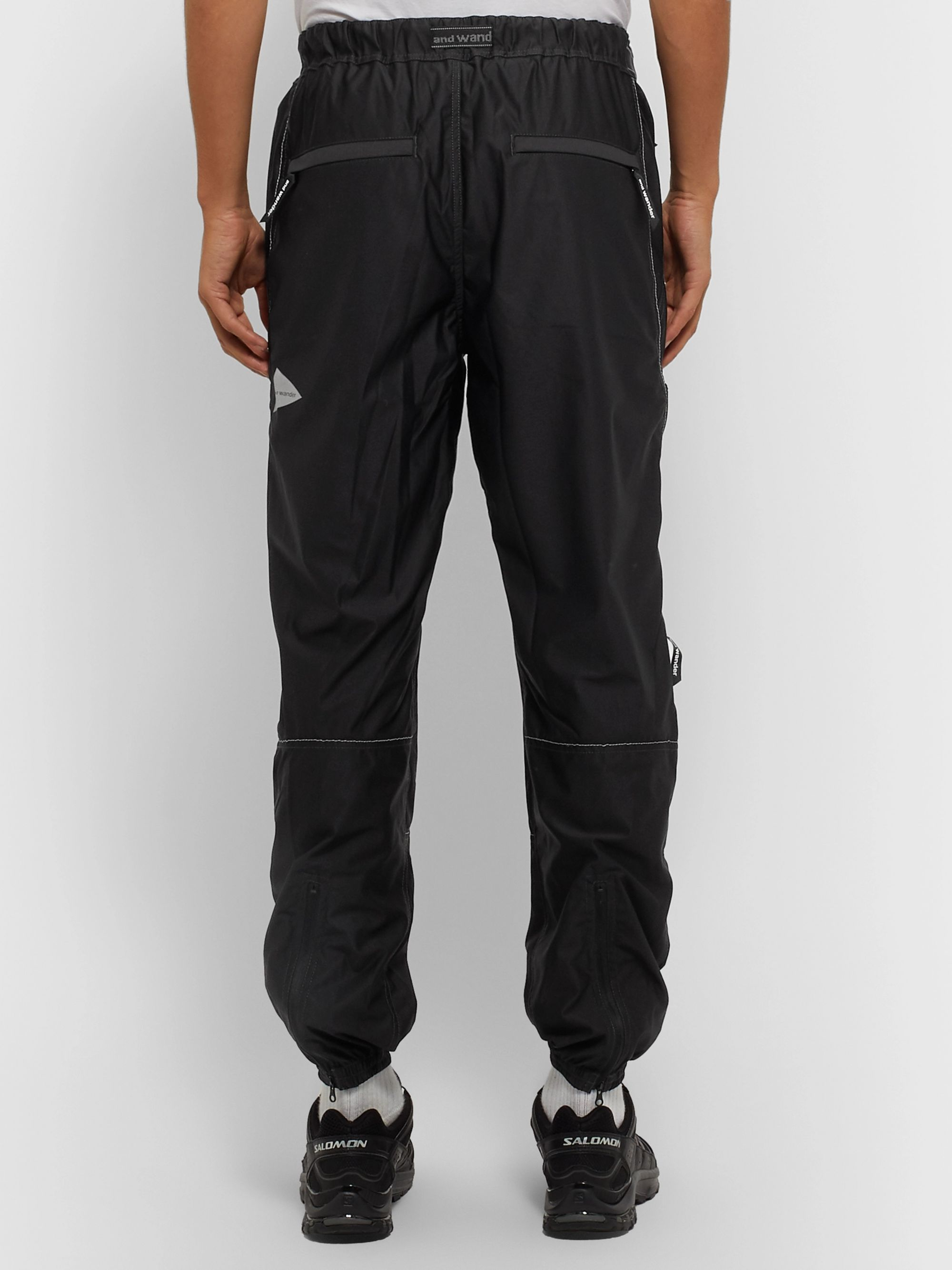 And Wander Raschel Ripstop Trousers