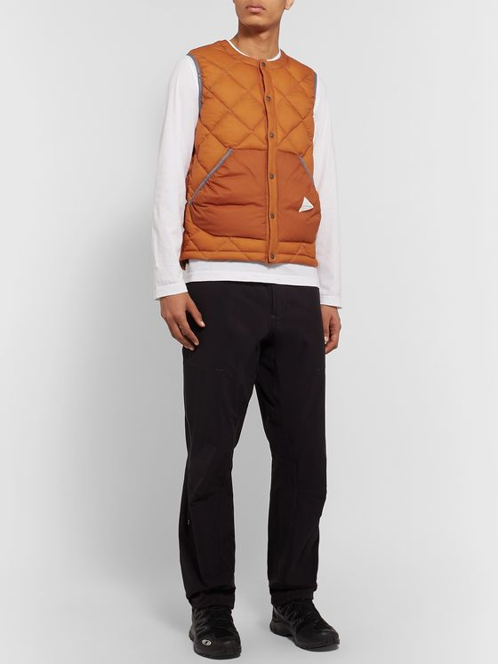 And Wander Quilted Nylon Down Gilet