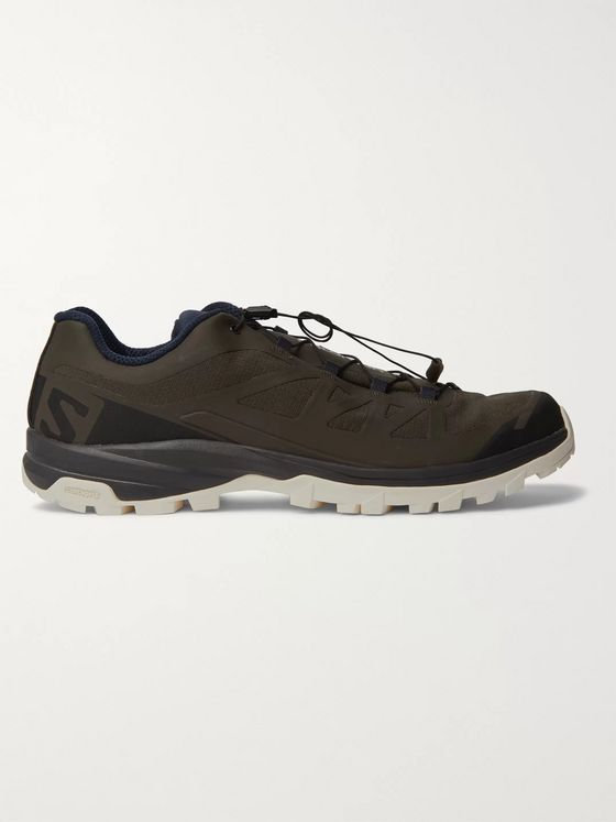 And Wander + Salomon Outpath GTX Ripstop and Rubber Sneakers