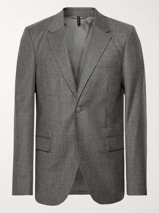 Helmut Lang Unstructured Wool Blazer