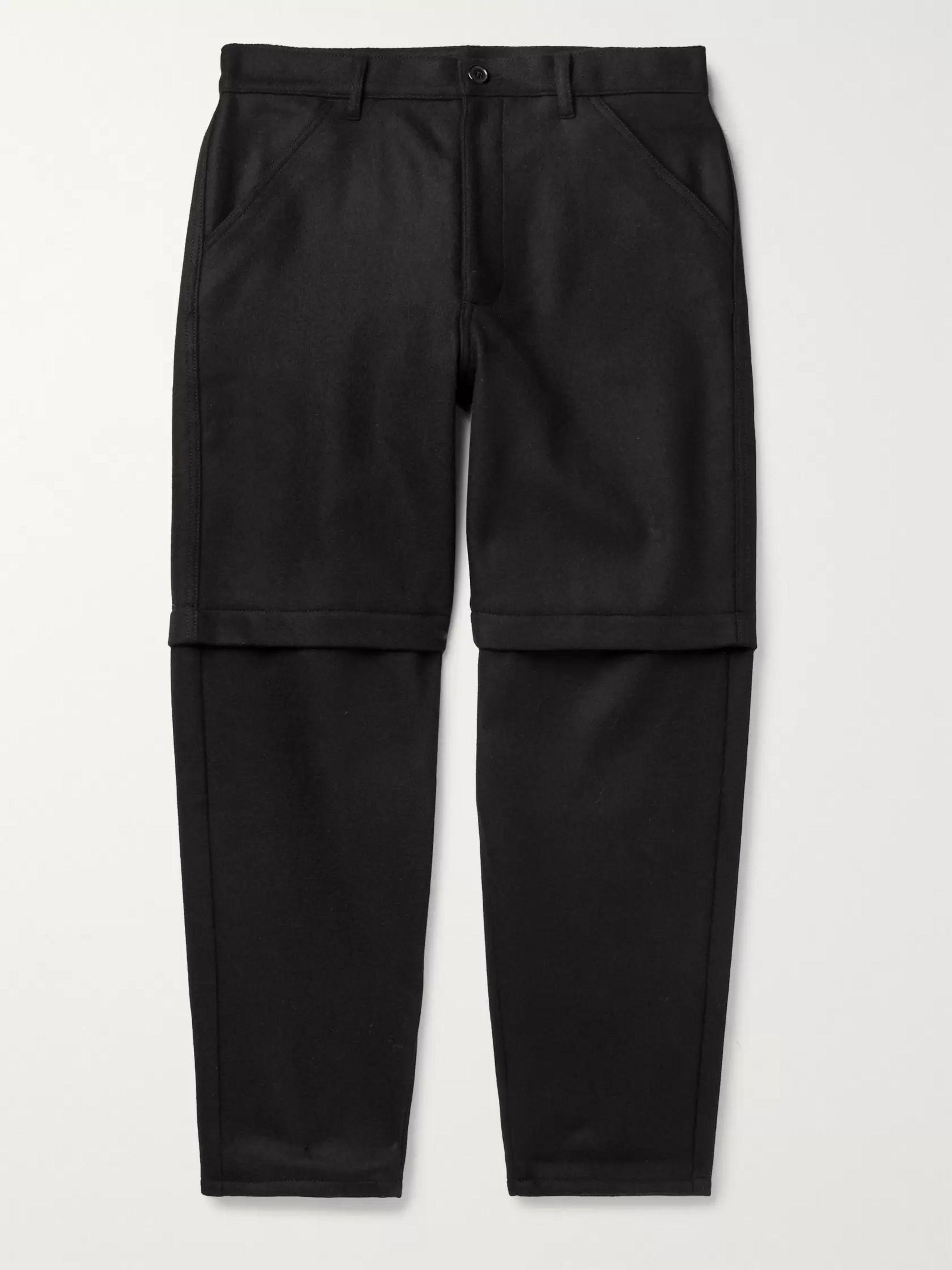 Black Wool Trousers by Comme Des Garçons Shirt