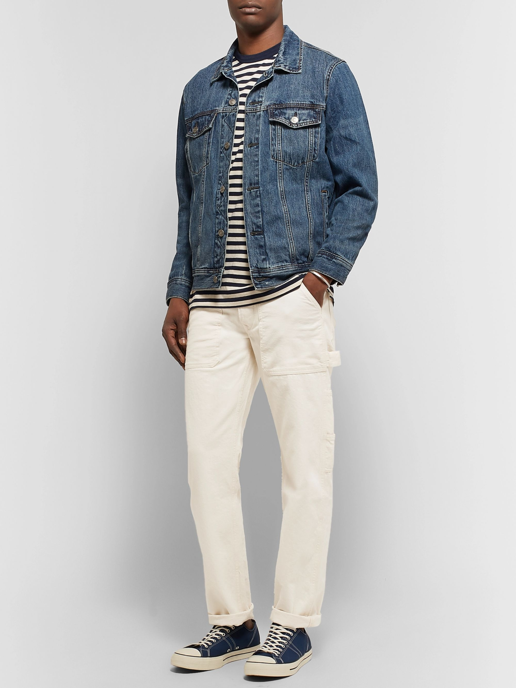 J.Crew Wallace & Barnes Cotton-Canvas Cargo Trousers