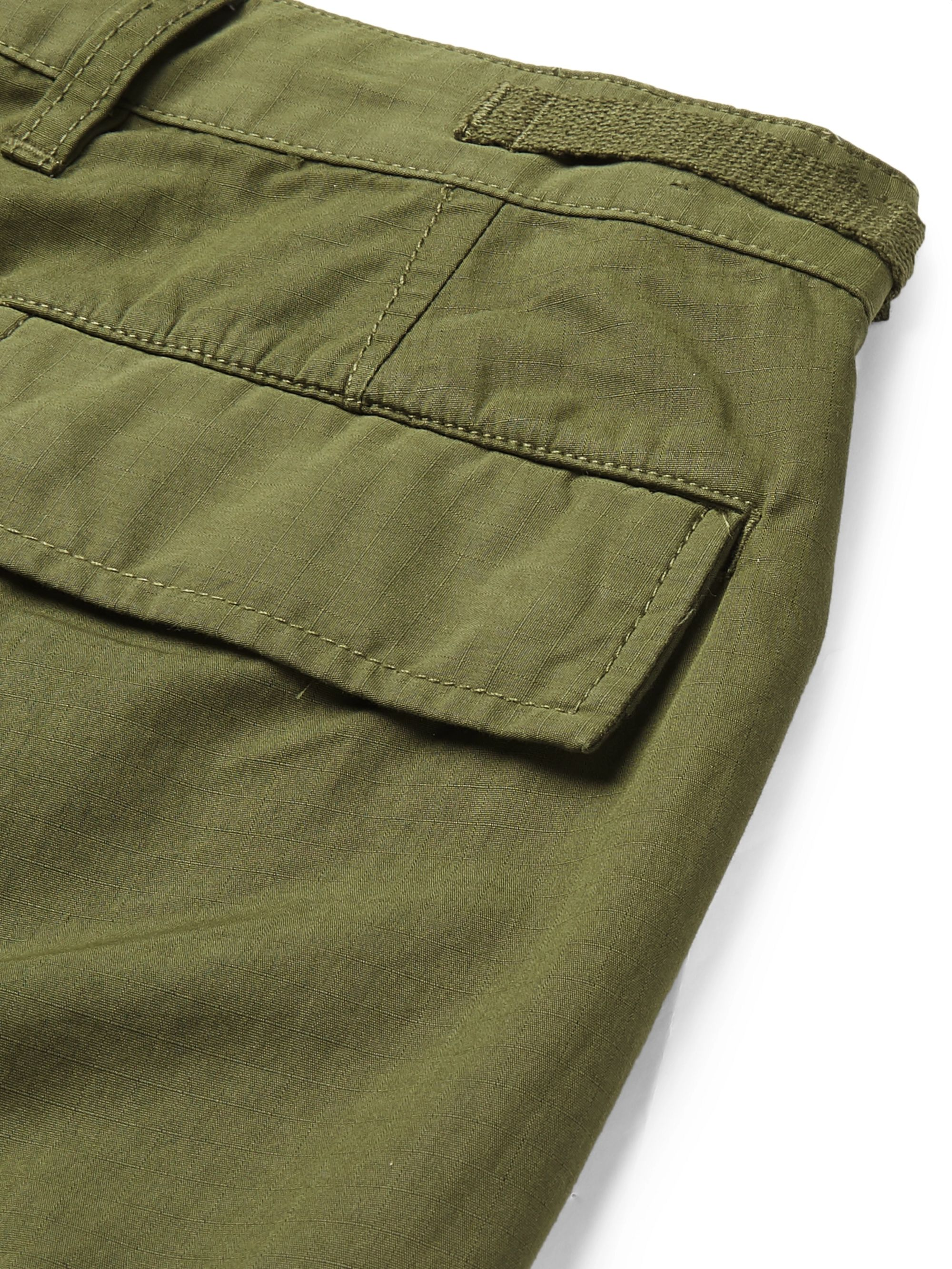 J.Crew Cotton-Blend Ripstop Cargo Trousers