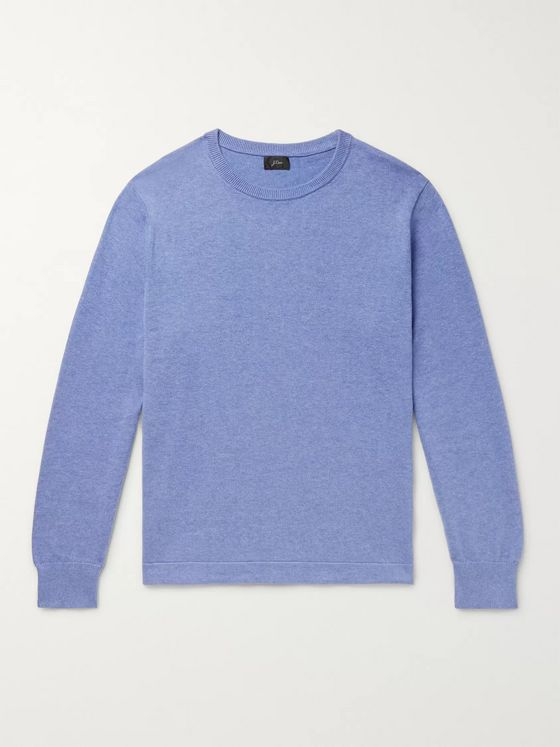 J.Crew Mélange Cotton Sweater