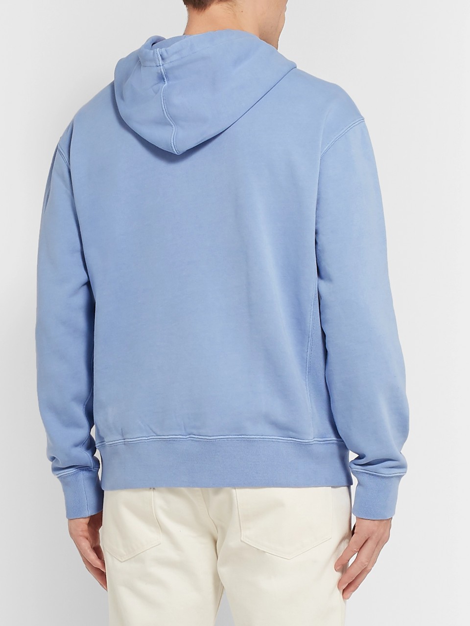 J.Crew Loopback Cotton-Jersey Hoodie