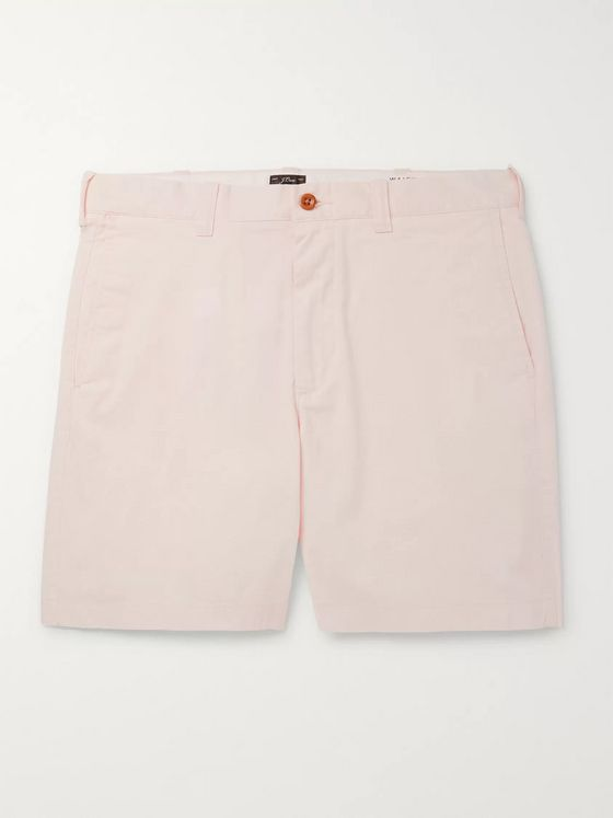 J.Crew Slim-Fit Cotton-Blend Twill Shorts