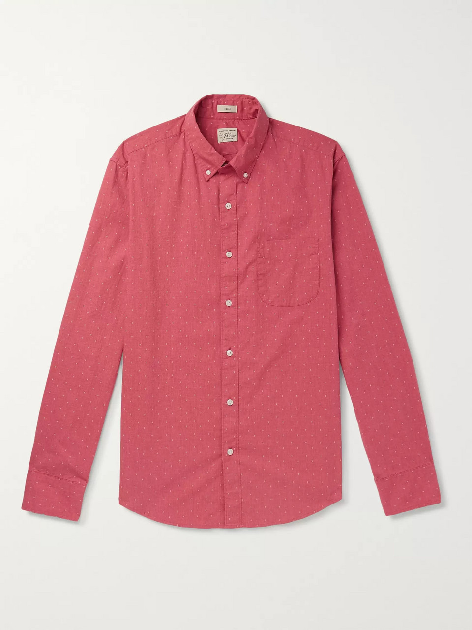 J.Crew Slim-Fit Button-Down Printed Cotton Shirt