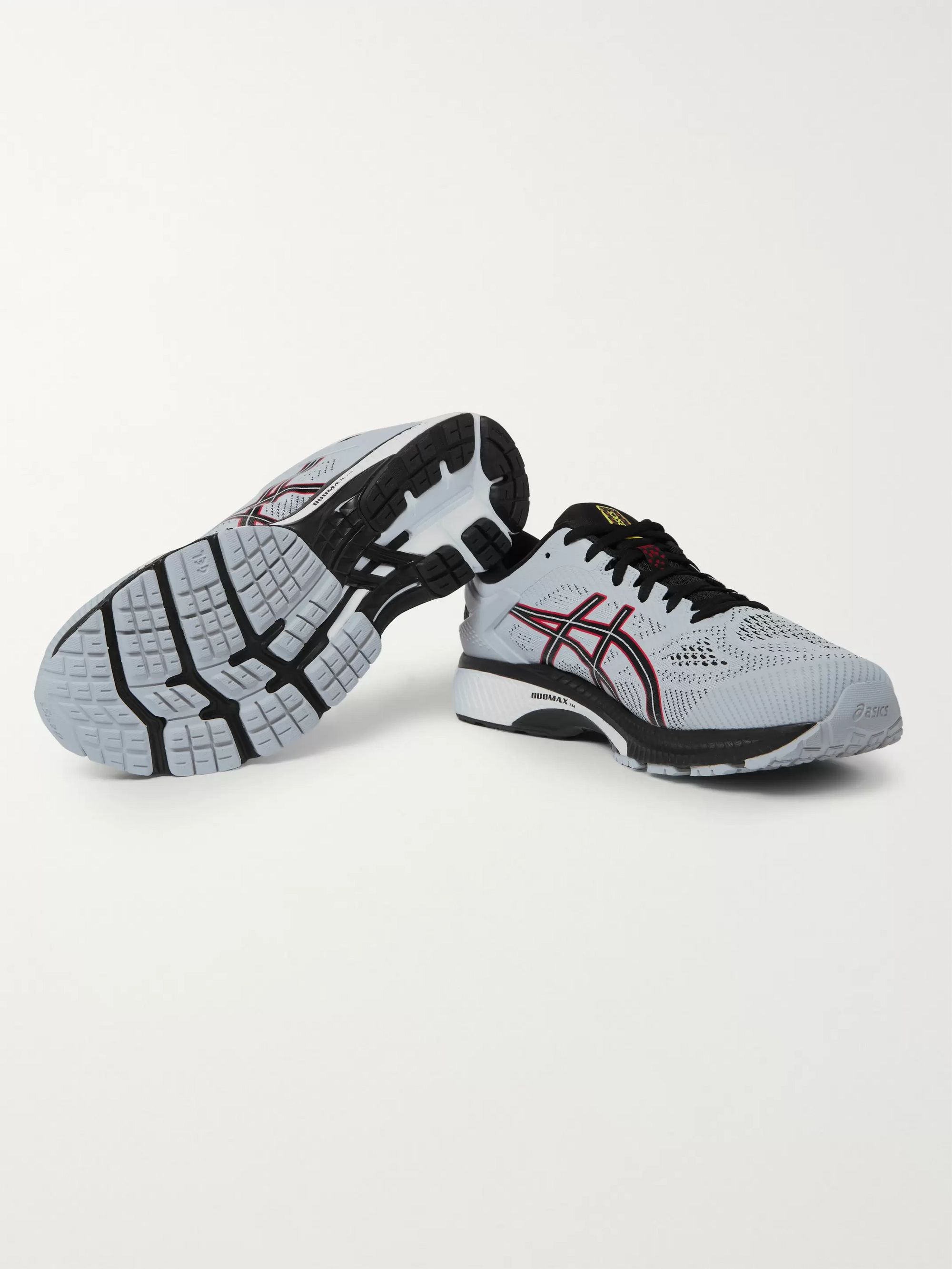 ASICS Gel-Kayano 26 Rubber-Trimmed Mesh Running Sneakers