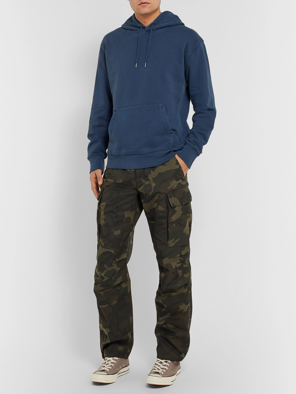 J.Crew Camouflage-Print Cotton-Blend Ripstop Cargo Trousers