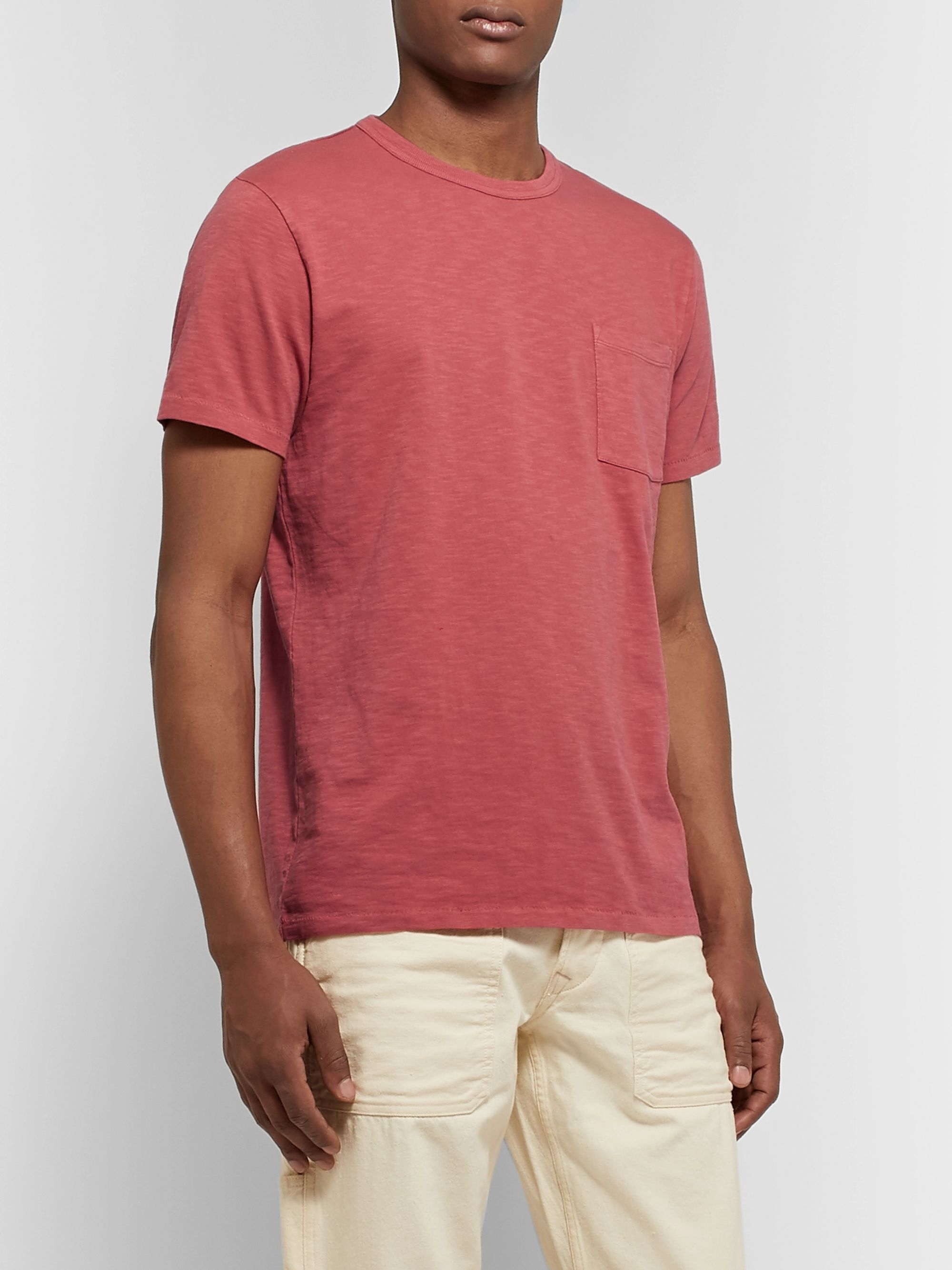 J.Crew Garment-Dyed Slub Cotton-Jersey T-Shirt