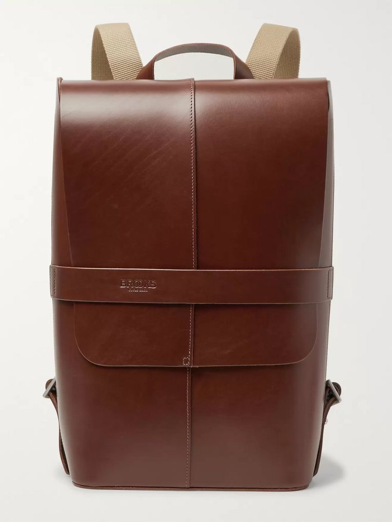 Brooks England Piccadilly Vegetable-Tanned Leather Backpack