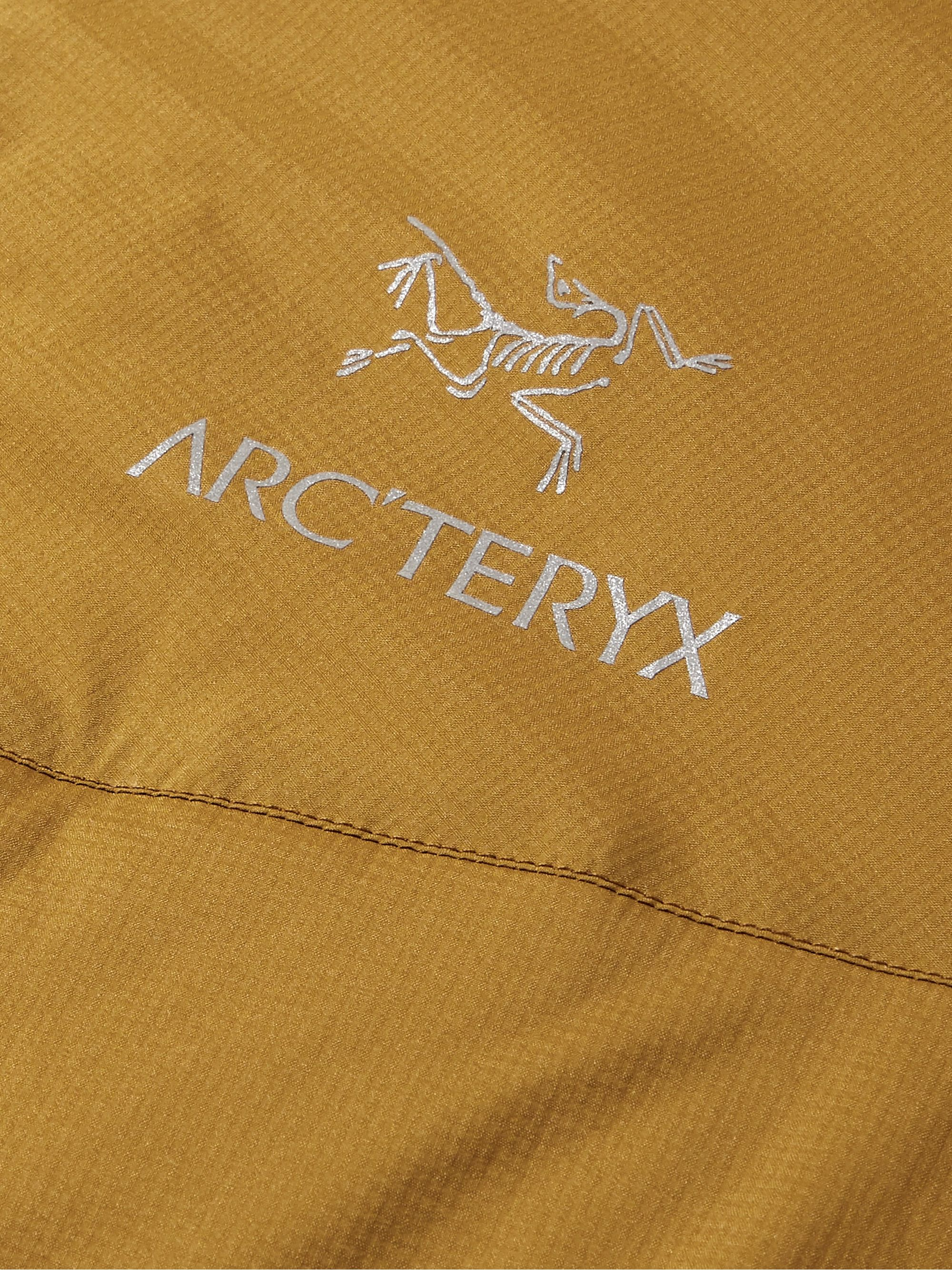 Arc'teryx Atom LT Logo-Embroidered Shell Hooded Jacket