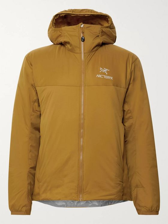 Arc'teryx Atom LT Stretch Jersey-Trimmed Nylon Coreloft Hooded Jacket