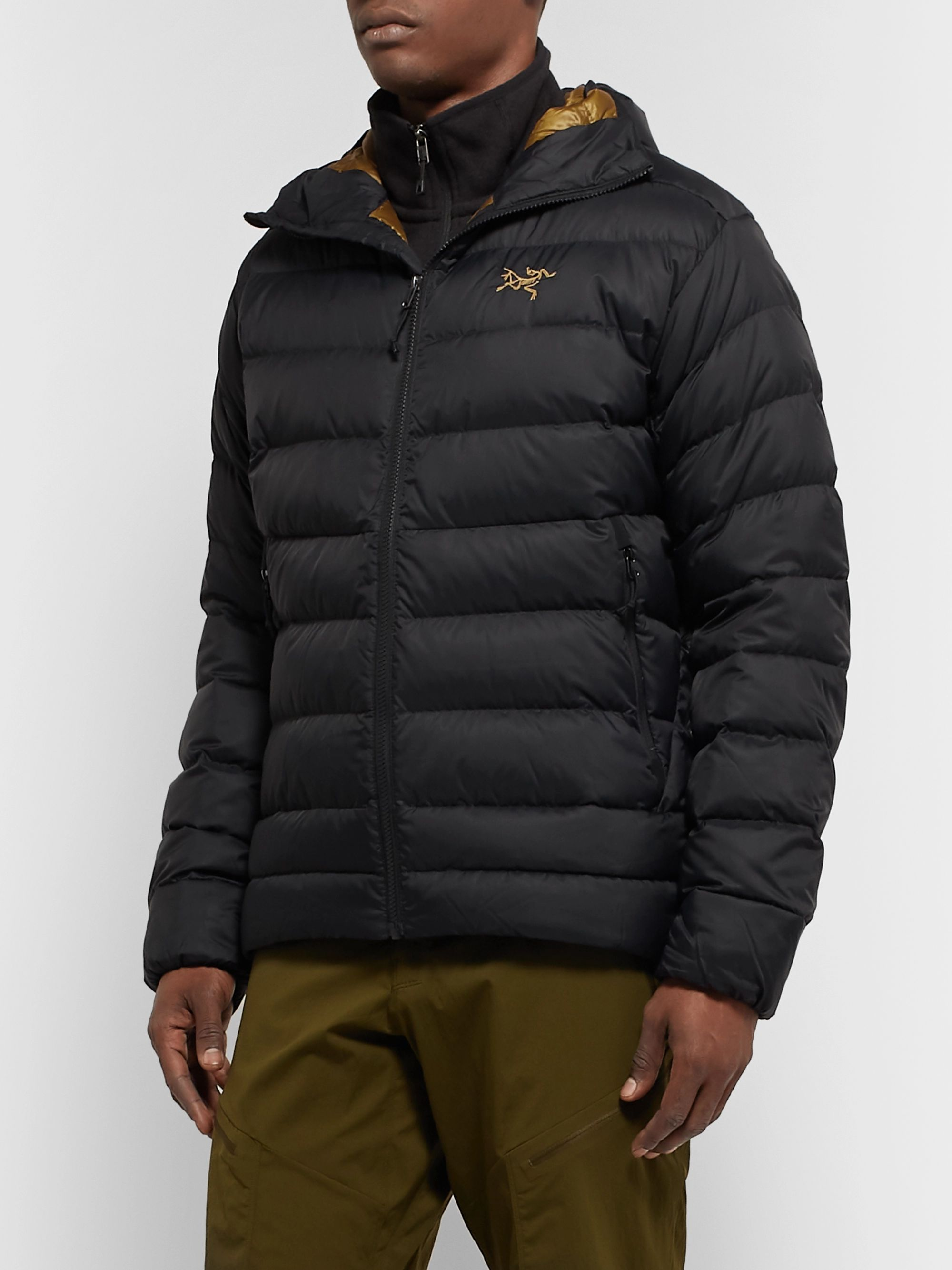 ARC'TERYX Thorium AR Quilted Nylon Hooded Down Jacket