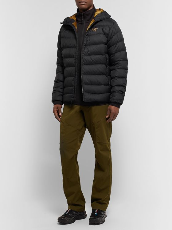 ARC'TERYX Thorium AR Quilted Arato 30 Nylon Hooded Down Jacket