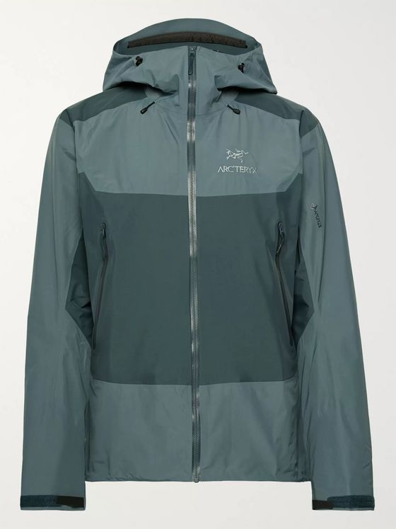 Arc'teryx Beta SL Hybrid Colour-Block GORE-TEX PACLITE PLUS Hooded Jacket