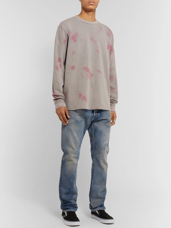John Elliott University Double-Dyed Cotton-Jersey T-Shirt