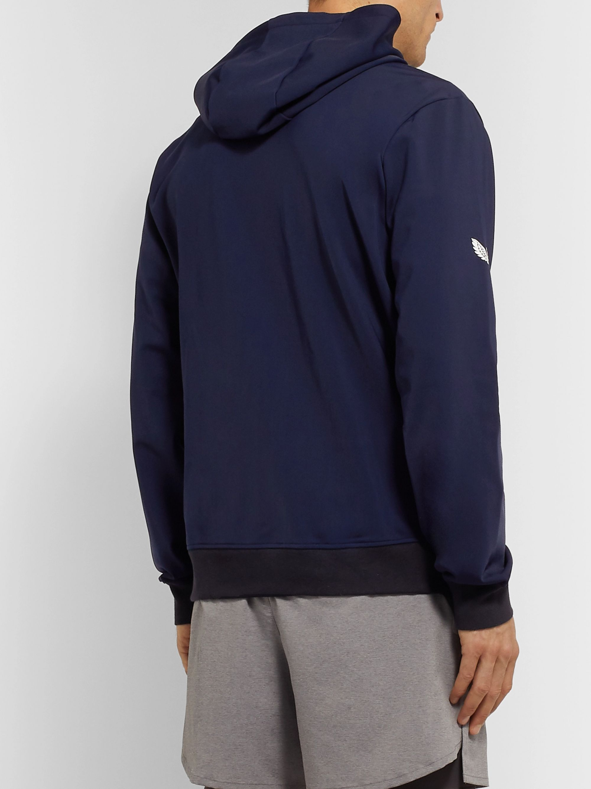 CASTORE Espin Stretch Tech-Jersey Hooded Jacket