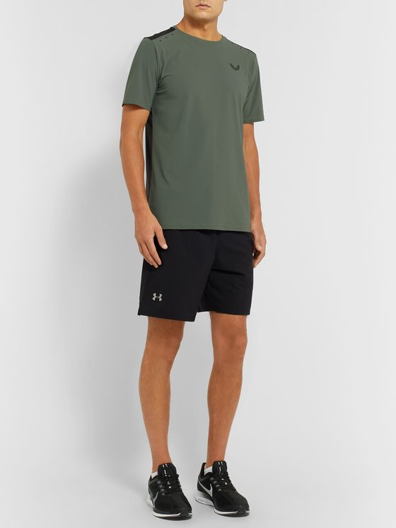 CASTORE Smythson Stretch Tech-Jersey and Mesh T-Shirt