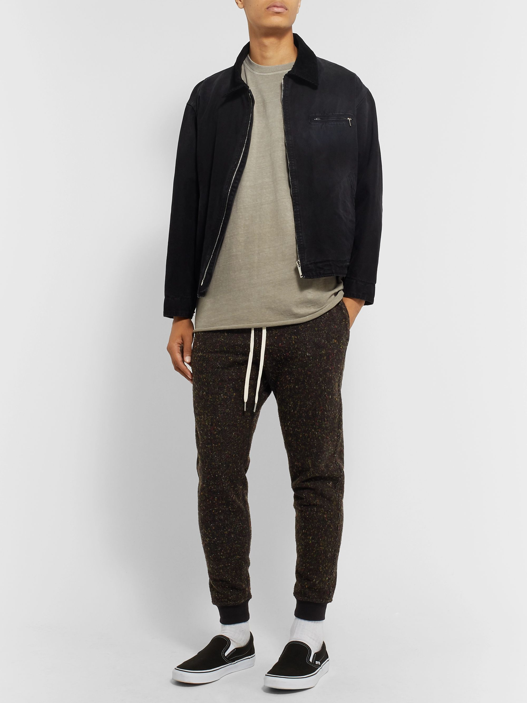 John Elliott Fireside Ebisu Tapered Knitted Sweatpants