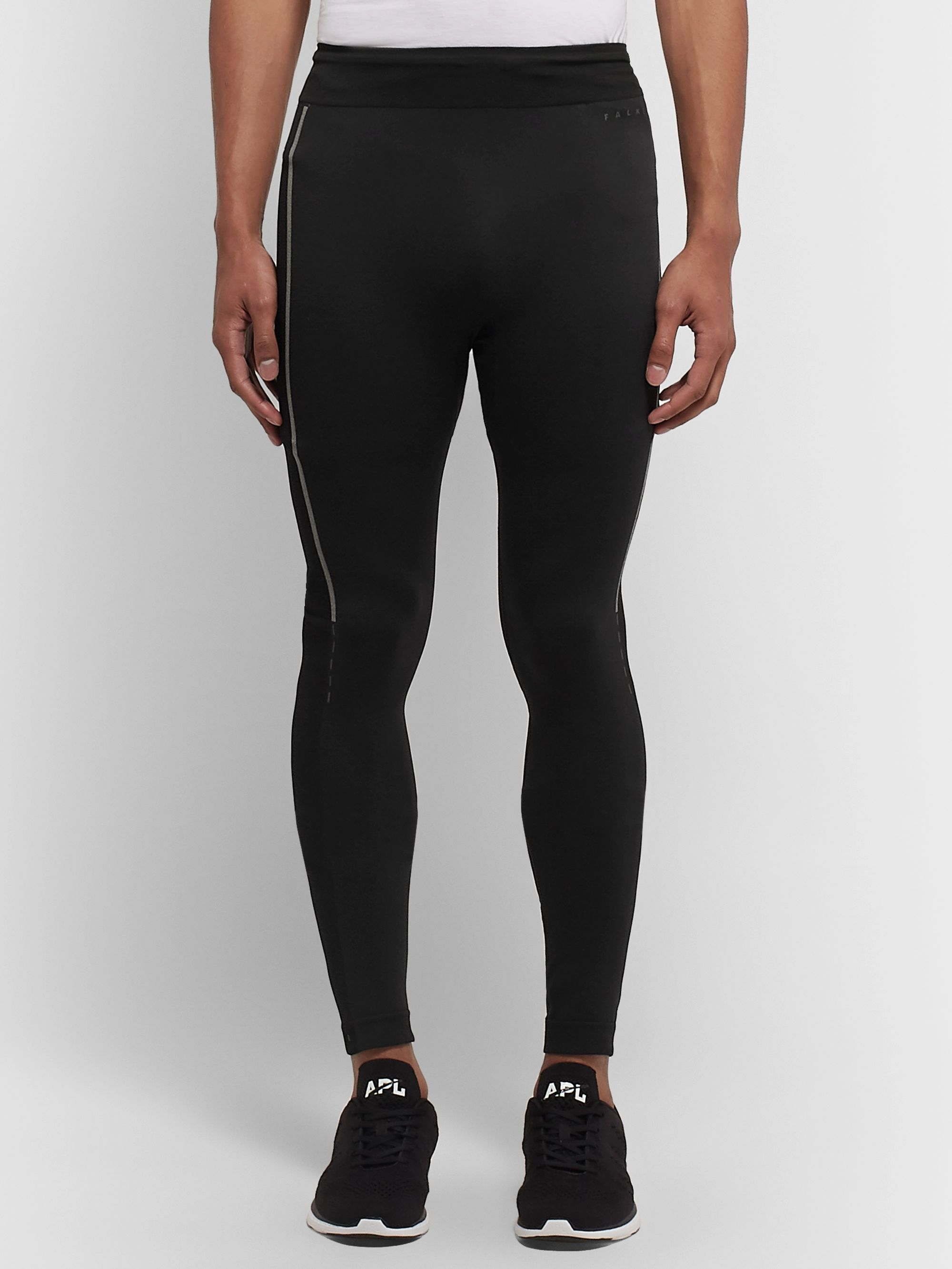 FALKE Ergonomic Sport System Iron Stretch-Jersey Compression Tights