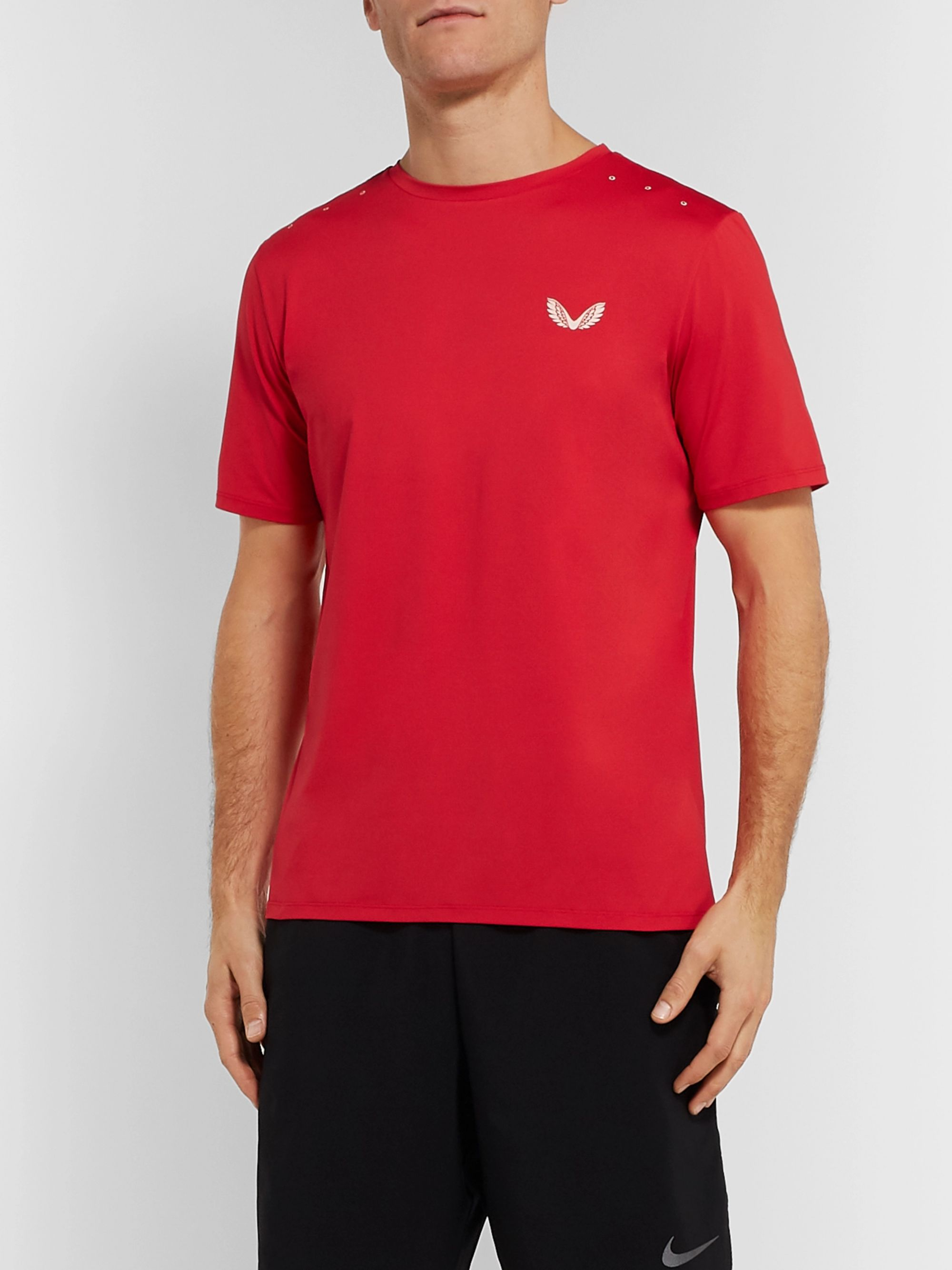 CASTORE Samuel Stretch-Mesh T-Shirt