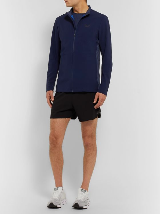 CASTORE Hampson Mesh-Panelled Stretch Tech-Jersey Running Jacket
