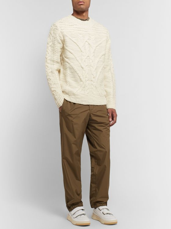 Isabel Marant Ryker Textured-Wool Sweater