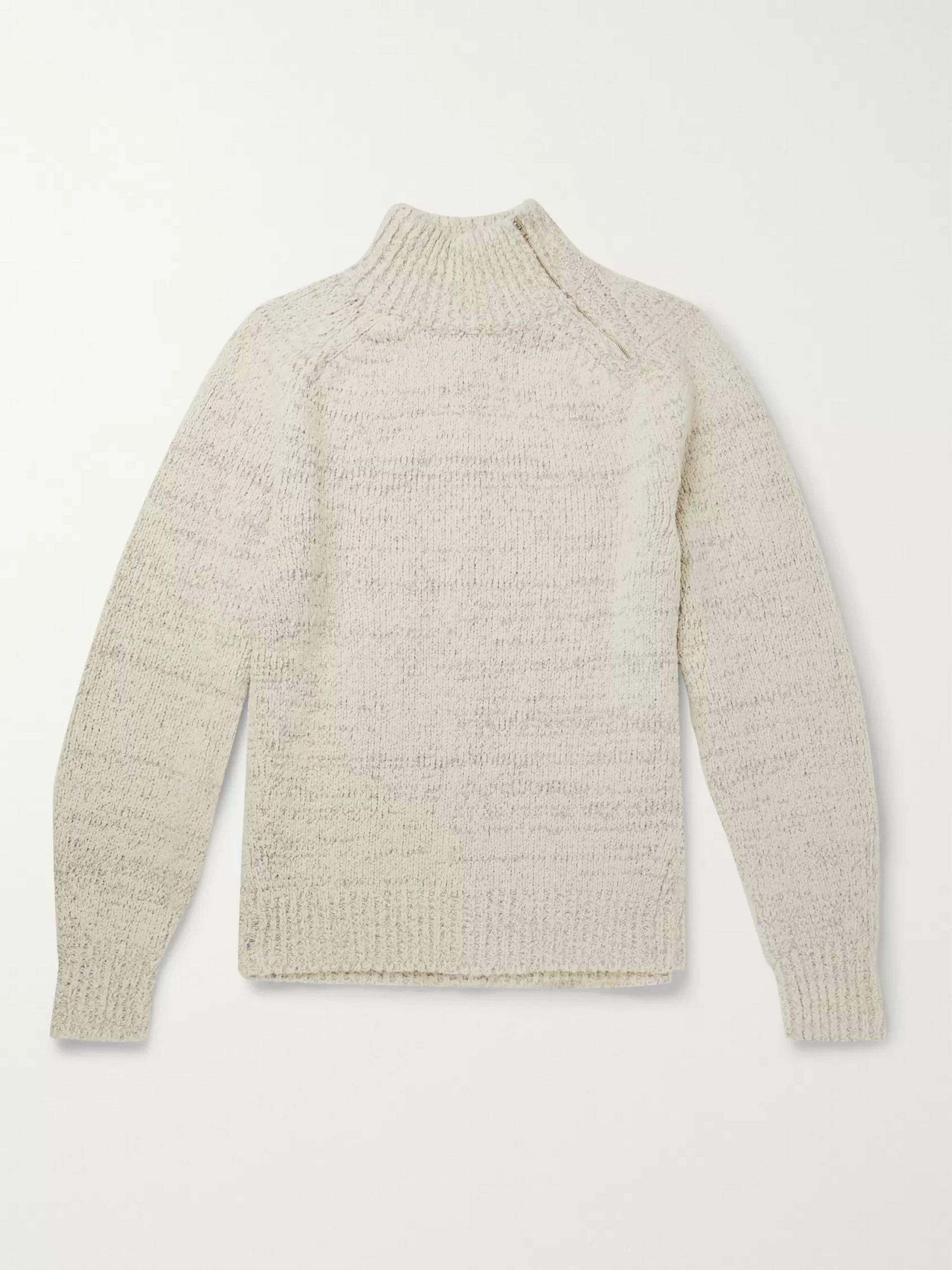 Isabel Marant Keffy Mélange Wool-Blend Sweater