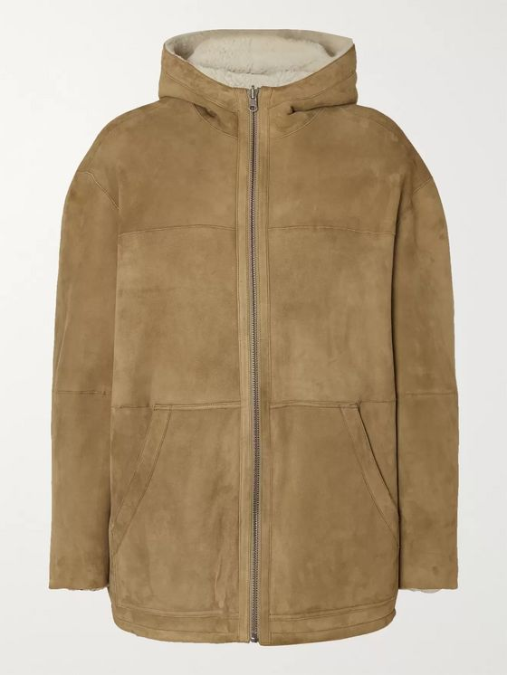 Isabel Marant Reversible Hooded Shearling Coat