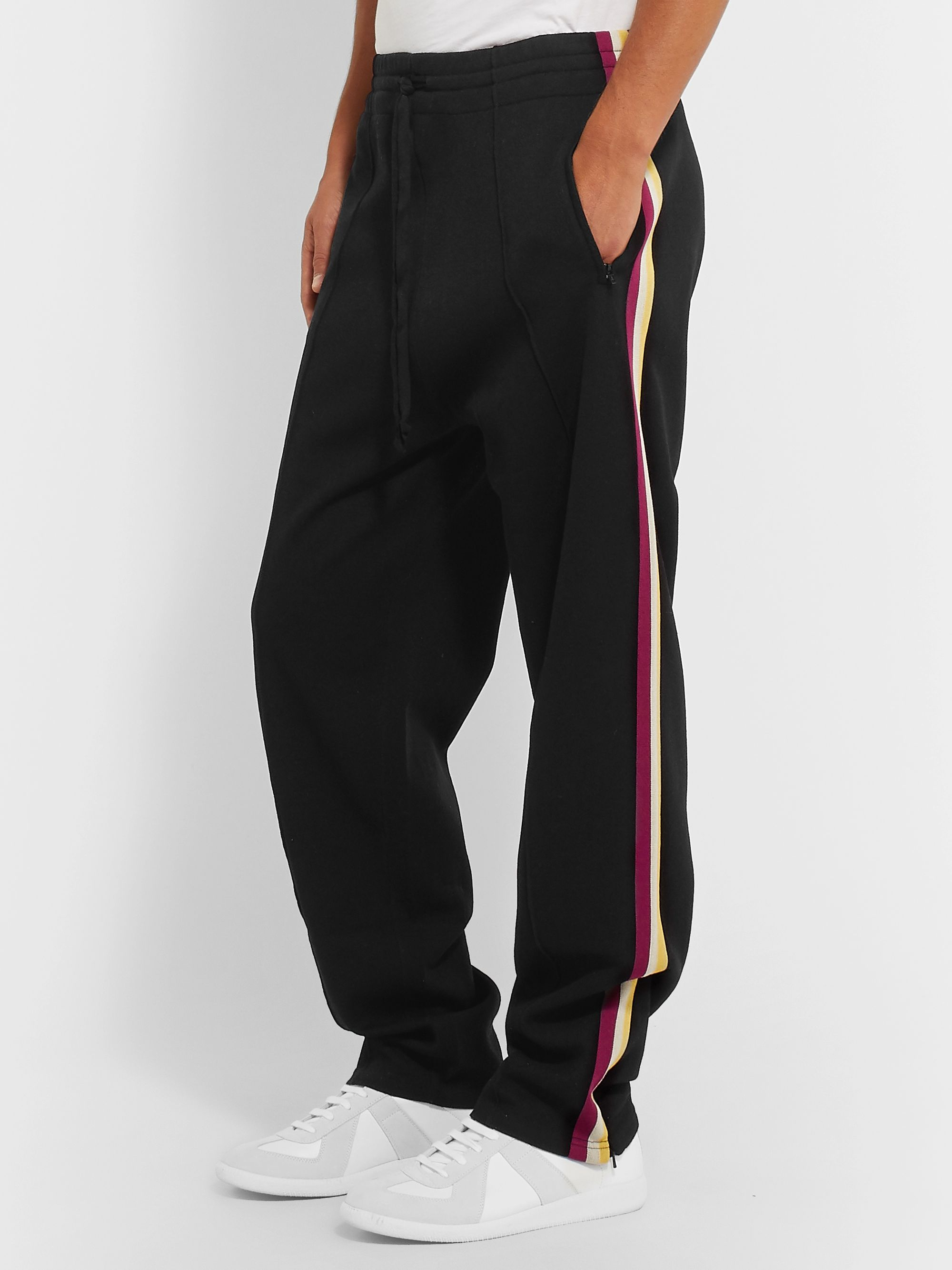 Isabel Marant Striped Jersey Sweatpants