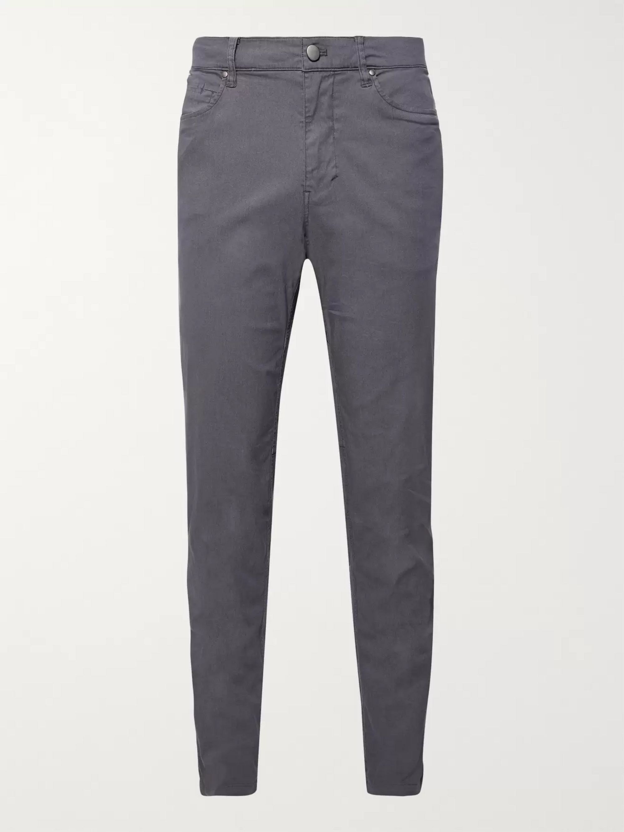 Lululemon ABC Slim-Fit Stretch Cotton-Blend Trousers