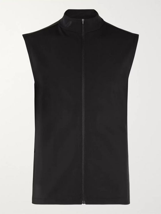 CASTORE Holmes Slim-Fit Stretch-Shell Gilet