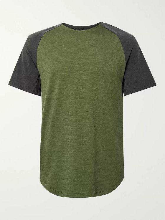 Lululemon Always Agile Colour-Block Stretch-Jersey T-Shirt