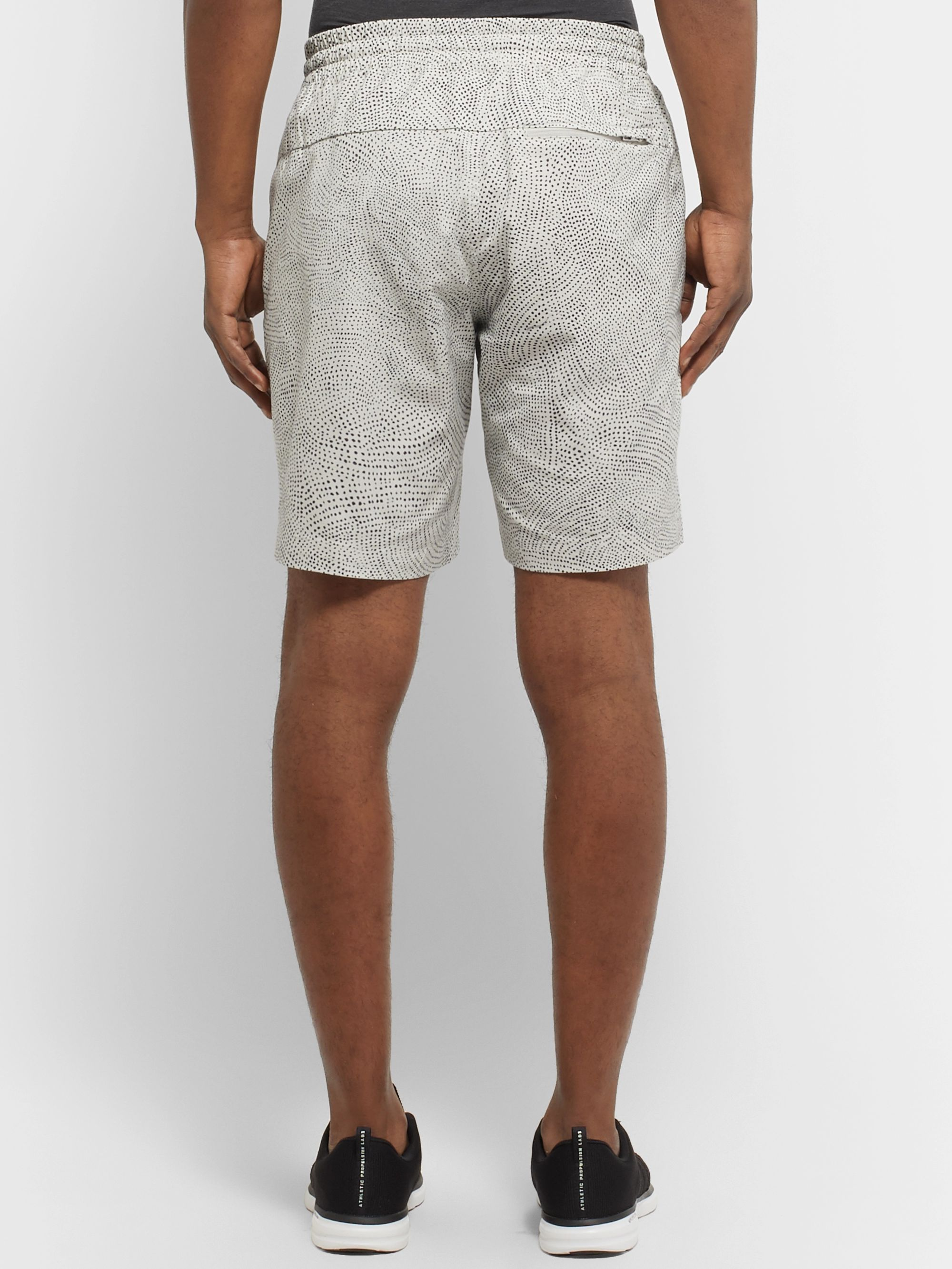 Lululemon Bowline Printed Stretch Organic Cotton-Blend Shorts